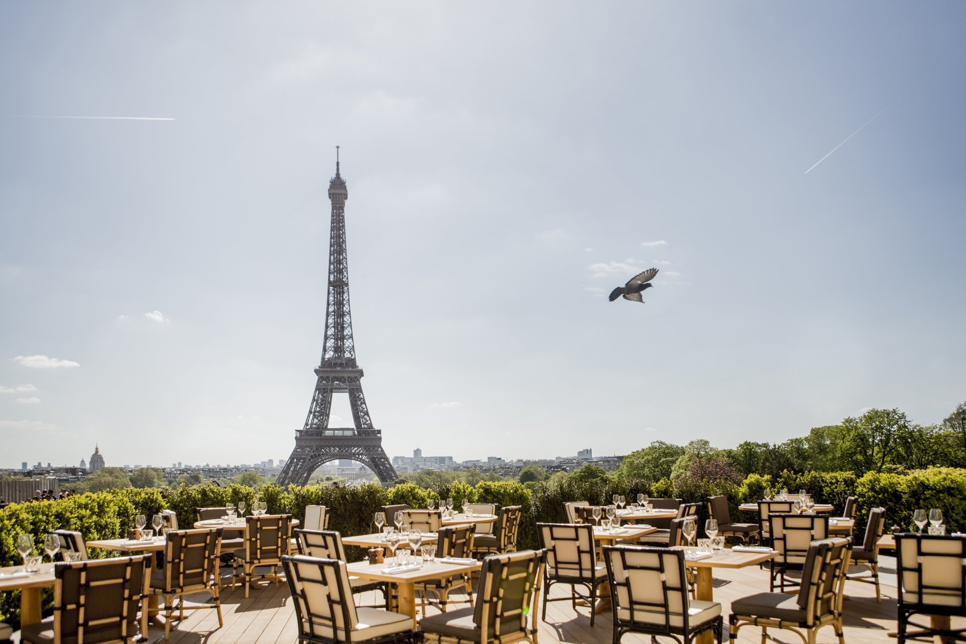 Top 6 Restaurants with View of Eiffel Tower